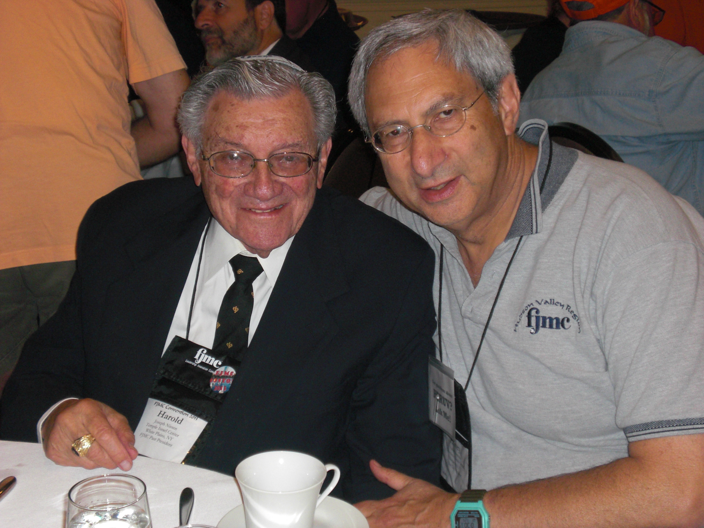 Harold Nissen and Harvey Braunstein